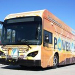 The service kick-off is the next step in a 12-month demonstration project designed to evaluate the performance of the zero emission buses. (Contributed)