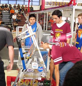 The Palmdale Aerospace Academy and Lancaster High School teamed up to make it to the quarterfinals.