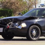 The minivan's driver braked suddenly to avoid a driver making and illegal turn, and the deputy driving behind the minivan was unable to stop in time, authorities said. (Photo by Luis Meza)