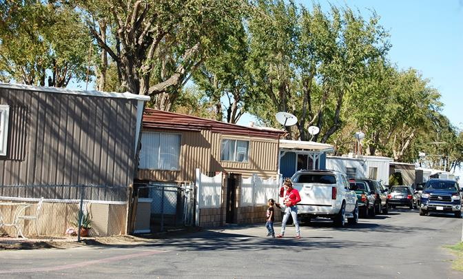 Residents are saying no more to the discrimination and threats to the health and safety that residents, children, persons of special needs, and elderly face at Desert Palms mobile home park.