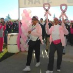 The Antelope Valley's inaugural Making Strides Against Breast Cancer Walk raised well over $50,000, organizers said. (Photo by WAUNETTE CULLORS)