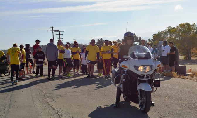 "Proceeds from ""Run with the Law"" will benefit the Royal Family Kids camp and the CHP Senior Volunteer Program. [Contributed photo from past event]"