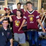 A team of approximately 20 students, including engineering, marketing, drive, and design specialists from The Academy, attended the competition in Placentia. (Contributed photo)