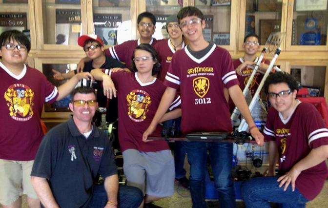 A team of approximately 20 students, including engineering, marketing, drive, and design specialists from The Academy, attended the competition Sept. 27-28 at Valencia High School in Placentia. (Contributed photo)