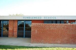 The project will also include some upgrades in school signage and markings for Tumbleweed School.