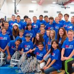 The team received the overall Tournament Champions Award, the Design Award and the Energy Award on Saturday, Oct. 18 at the 2nd Annual Joe Walker Middle School Stealth Academy Sky Rise Robotics Tournament. (Contributed photo)