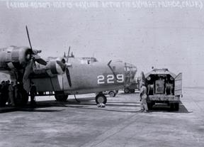 Muroc was a stop for the heavy bombers before heading to the Pacific Theater during World War II. (Courtesy photo provided by Air Force Test Center History Office)