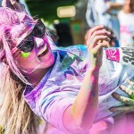 To make this event unique, the Color Vibe uses a cornstarch-based colored powder to tie-dye participants. It's non-toxic, 100% safe, and biodegradable. It also washes out easily from skin and hair. (Contributed photo)