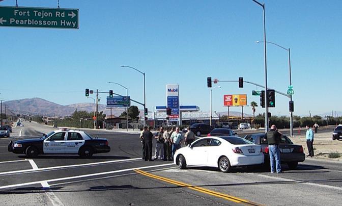 Palmdale detective crash 1