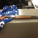 Lancaster detectives are looking for the rightful owner of this stolen shotgun. Anyone with information about this recovered shotgun is encouraged to contact Lancaster Station Detective Barclay at 661-948-8466. (Photo courtesy LASD)