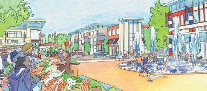 Rendering of a typical TOD project that represents the TOD vision. (Contributed)