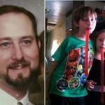 46-year-old Alan Edwards, 9-year-old Erick and 5-year-old Alona were killed in the collision. (Facebook photos)