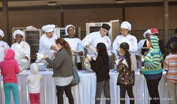 """More than 2,400 holiday meals have been served at """"Caring for the Community"""" events over the past seven years, and organizers are hoping to serve a record number of attendees this year."""