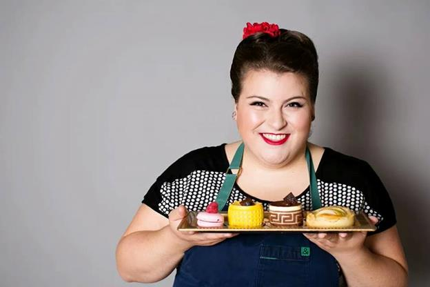 Erin Campbell, the general manager of Nadia Cakes in Palmdale, won the Food Network's Holiday Baking Championship. (Photos courtesy De La Vue Photography, Minneapolis, MN)