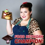 Campbell said if there's one thing she learned from her experience in the Holiday Baking Championship, it's never to second guess your own abilities. (Television Food Network)