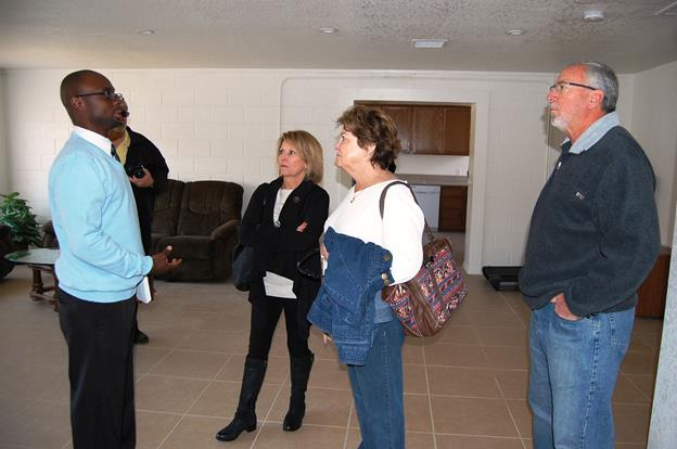 Following the opening ceremony, supporters toured the Palmdale Dream Center.