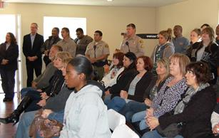 More than 75 supporters and well-wishers attended the opening celebration.