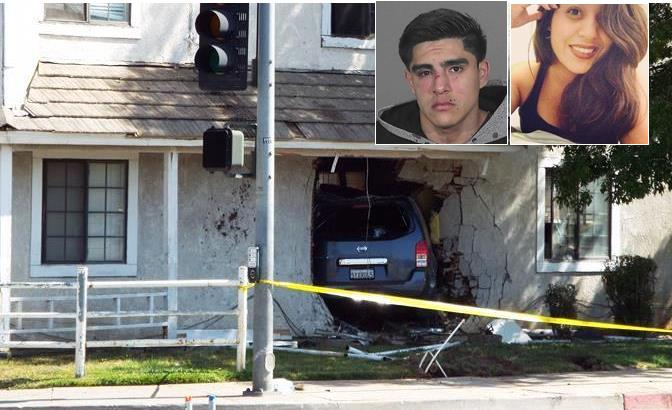 Roberto Rodriguez, who was 20 years old at the time of the crash, is accused of driving under the influence of alcohol and crashing his Nissan Pathfinder through an apartment during the early morning hours of April 20, 2014. The crash killed 16-year-old Palmdale High School student Giselle Mendoza as she slept in her bed.