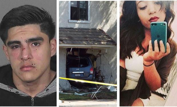 Around 3:38 a.m. Sunday, April 20, 2014, Roberto Rodriguez careened his Nissan Pathfinder through a first floor apartment and into the bedroom where Giselle Mendoza was sleeping on the 1000 block of East Avenue R in Palmdale. Mendoza, a 16-year-old Palmdale High School student, was pronounced dead at the scene.