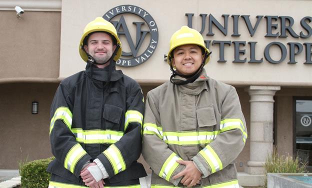 UAV firefighter student heroes 1