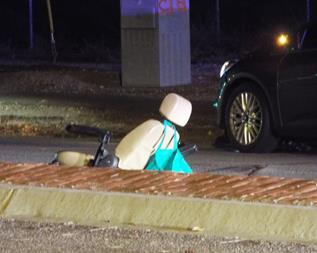 William Morice Bell Jr. was not crossing in a crosswalk when he was struck. (LUIS MEZA)