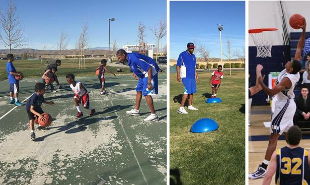 The age appropriate sports training camp is designed for boys and girls, ages 6 to 18, and all skill levels are welcome, said former pro basketball player Raphael W. Harris. (Contributed)
