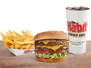 The Habit is known for its Charburgers, made-to-order and cooked over an open flame.  (Contributed)