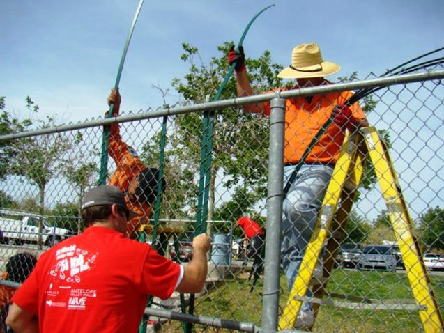 In 2014, Palmdale residents donated over 40,000 hours of service in the various projects. (Contributed photo)