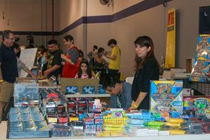 Pokémon merchandise was on display. (Photo courtesy UAV)