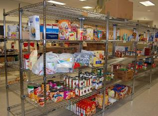 Volunteers are needed to pick up and process daily donations.