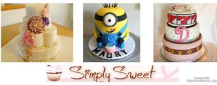 Simply Sweet features custom cakes, cupcakes, éclairs, napoleon creams, French baguettes, pan dulce, cookies, and more. View a photo gallery on Facebook here.