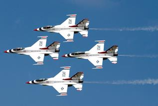 The United States Air Force Thunderbirds Jet Demonstration Team will headline the show. (Contributed)