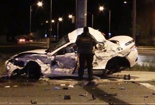 3-car crash in Lancaster injures 7