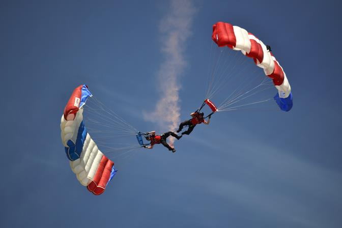 Photo by Christine Young, taken March 22 at Fox Airfield.