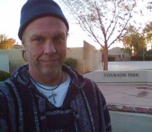 Don Arnold in front of Courson Park in Palmdale. (contributed)