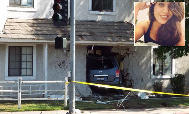 The civil lawsuit, filed Monday in Los Angeles Superior Court, alleges that building owner Bo Kun Song negligently maintained a railing in front of the apartment that he knew was unsafe; and his inaction allowed a suspected drunken driver's vehicle to plow through the wall of the apartment building and into Giselle Mendoza's bedroom, killing her.