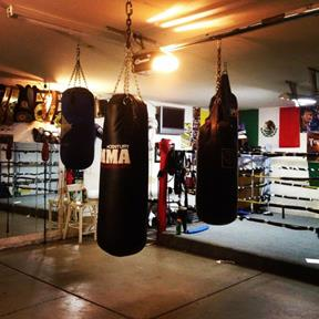 Olvera trained local children in his home garage gym in East Palmdale. (Contributed)