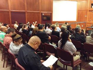 The more than 100 attendees included school officials, teacher unions, health service providers, pastors, civic leaders, business owners, parent and youth. (Contributed photo)
