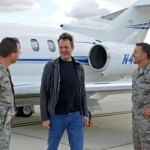 Vince Vaughn treats troops at Edwards to advance screening of new film