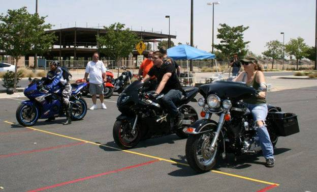 """The fourth annual """"Motorcycle Awareness Blood Drive AV: Payin' it forward"""" will be held from 9 a.m. to 1 p.m. Saturday, May 9, at the Antelope Valley Hospital Blood Donor Center, located at 44105 15th Street West in Lancaster. (Contributed photo of previous event.)"""