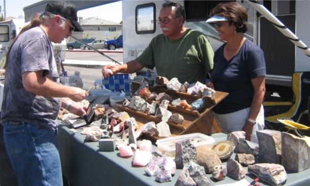 A variety of vendors will be offering rocks, gems, minerals, jewelry, beads, fossils, jewelry-making supplies and books. (Contributed photo of past event.)