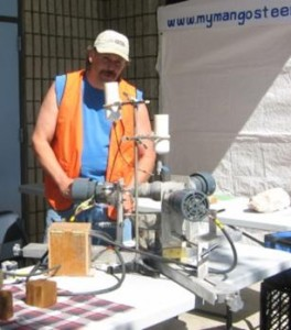Attendees can learn about lapidary arts, glass bead making and jewelry making through a range of demonstrations. (Contributed photo)