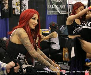 Brittanya is joining the High Desert Tattoo Expo for the second year. (contributed)