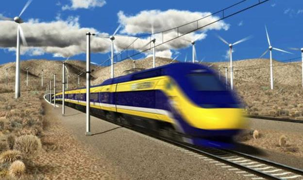 Some Antelope Valley residents have said the high-speed rail line would divide the community of Lake View Terrace, threaten wildlife and hurt property values.[Image courtesy High Speed Rail Authority]