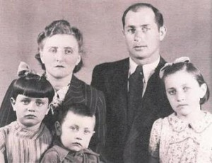 The Rosenbach family managed to escape a Nazi-enforced ghetto in Warsaw, Poland, in 1942. (contributed)