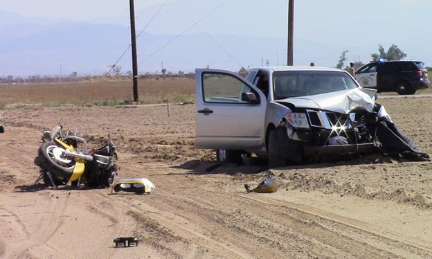 The fatal crash occurred around 2 p.m. April 19 at the intersection of 90th Street East and Avenue K in Lancaster. (LUIS MEZA)