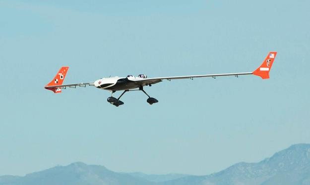 NASA researchers are using the X-56A, a low-cost, modular, remotely piloted aerial vehicle, to explore the behavior of lightweight, flexible aircraft structures. (NASA Photo / Ken Ulbrich)
