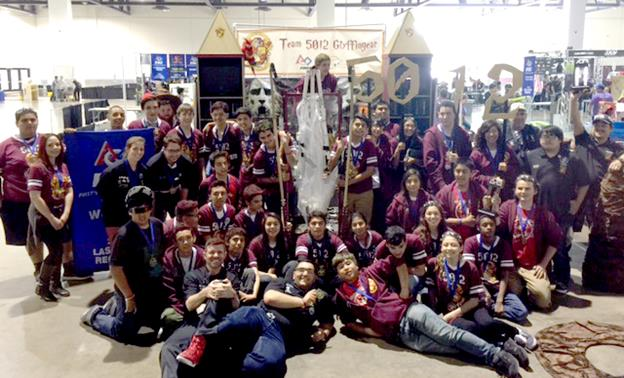 TPAA Team 5012 Gryffingear Robotics is made up of 35 students, six mentors and two advisors. (Contributed photo)