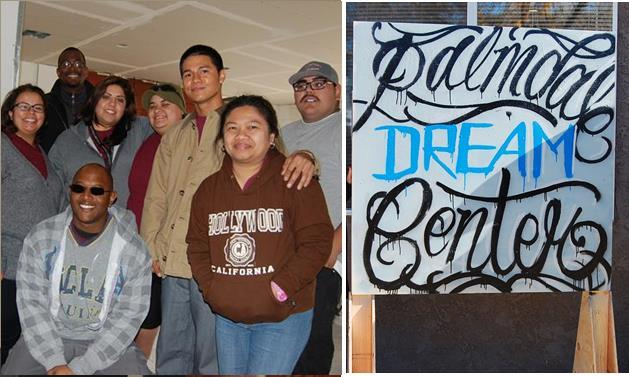 AV YouthBuild students, alumni and staff at the Palmdale Dream Center. [file]