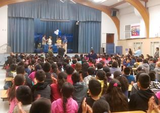 Bohannon's surprise was unveiled at a Yucca Elementary school assembly. (contributed)